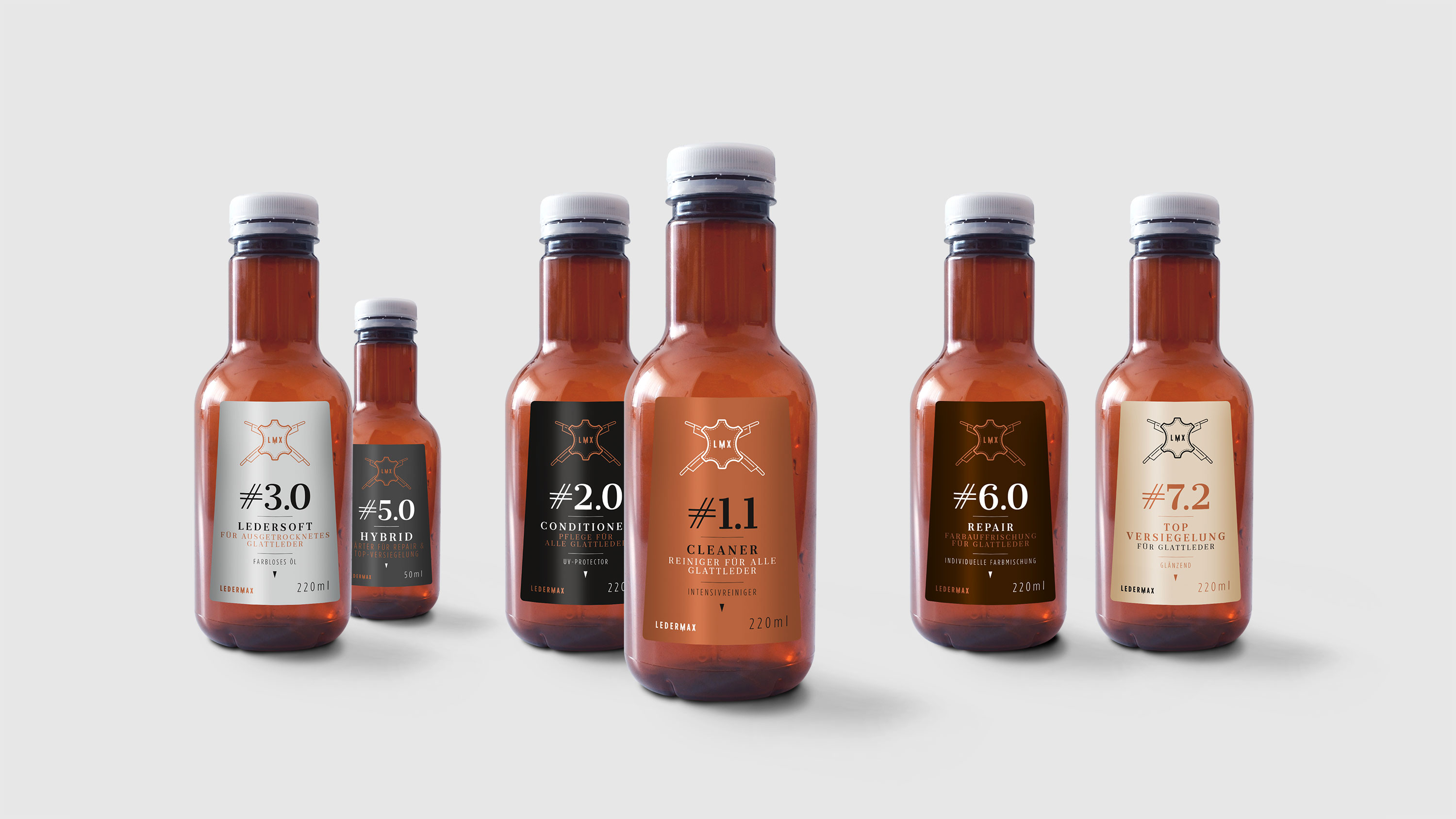 Ledermax / Corporate Design / Packaging / Web