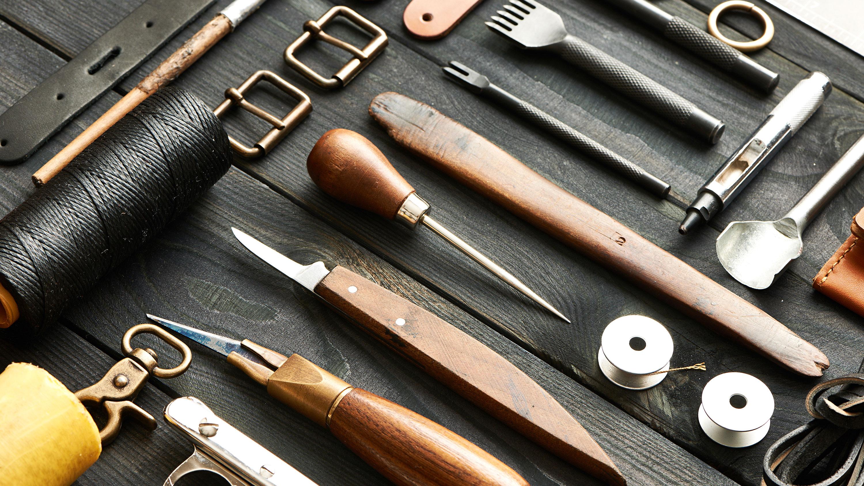 Werkzeug Lederverarbeitung