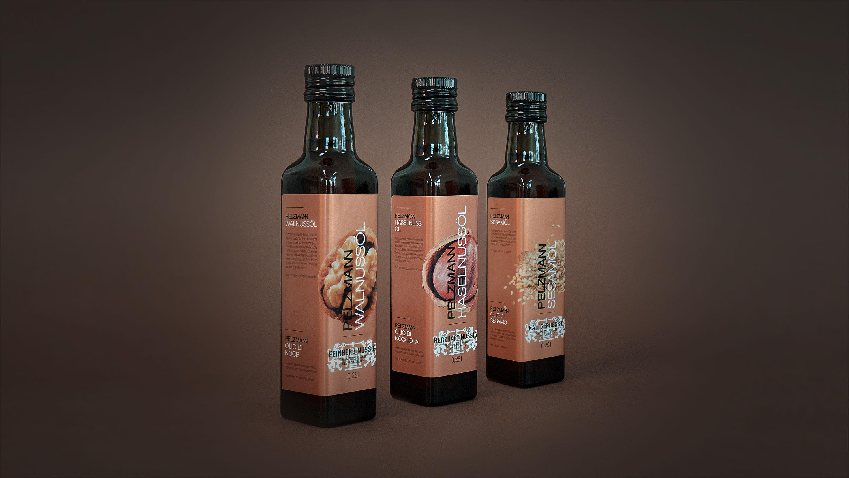 Flaschen Nussöle Pelzmann