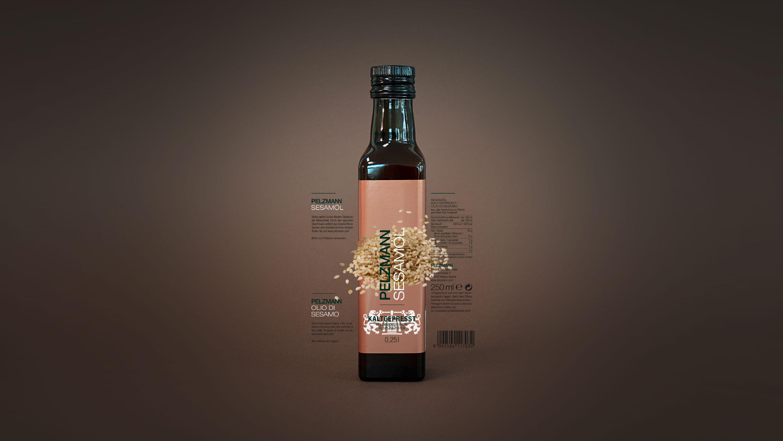 Pelzmann Flasche Sesamöl