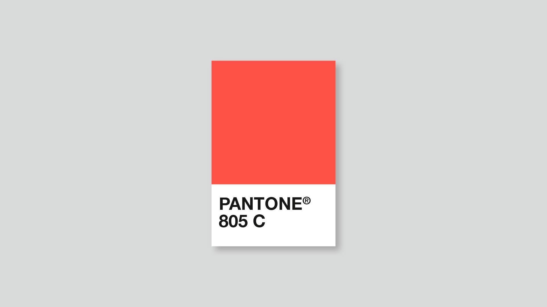 Pantone 805 C