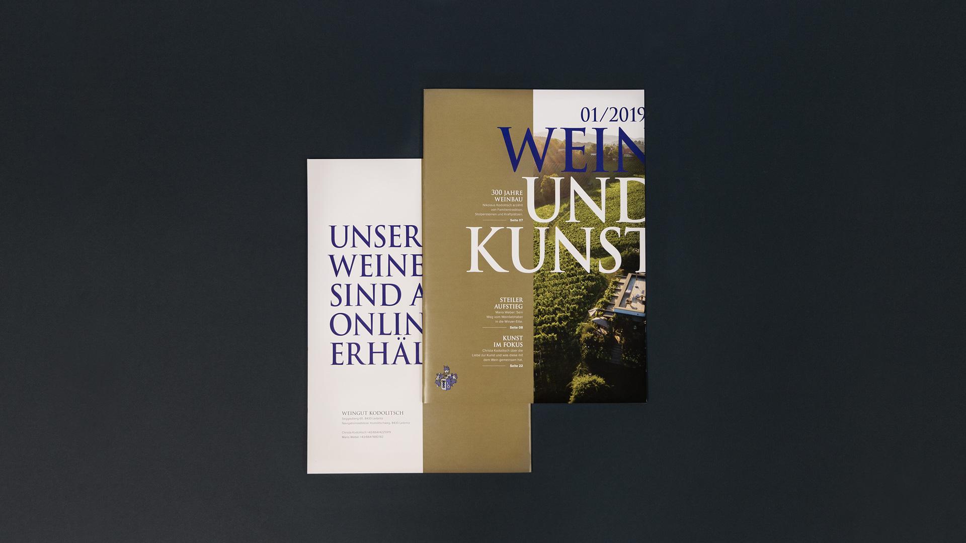Magazin Weingut Kodolitsch